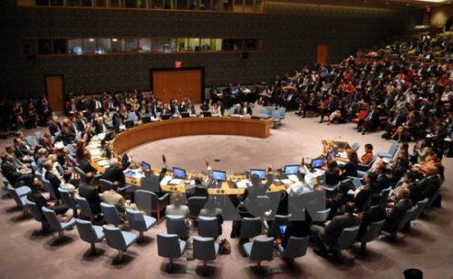 Phiên họp của Hội đồng Bảo an Liên hợp quốc về dịch Ebola, ngày 18/9/2014. (Ảnh: Tư liệu TTXVN)