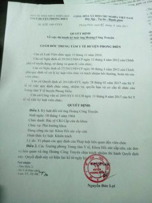 Nói xấu bộ trưởng Bộ Y tế trên Facebook, một bác sĩ bị phạt 5 triệu - Ảnh 1.
