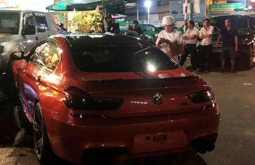 Lái xe BMW 7 tỷ làm loạn trên phố khai gì với công an? - Ảnh 2.