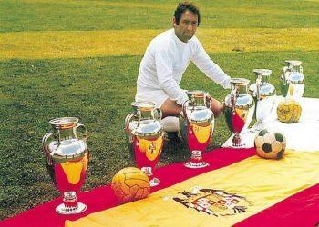 Francisco Gento 6 lần vô địch cúp C1 cùng Real Madrid