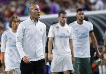 Real Madrid thua cả 3 trận trước MU, Man City và Barcelona ở IC Cup năm nay