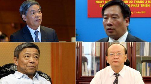 Kỷ luật 4 nguyên lãnh đạo vi phạm liên quan vụ Formosa