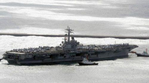 Tàu sân bay thứ 2 của Mỹ đã vào tây Thái Bình Dương - Ảnh 2.