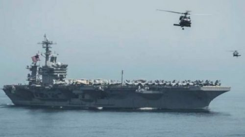 Tàu sân bay thứ 2 của Mỹ đã vào tây Thái Bình Dương - Ảnh 1.