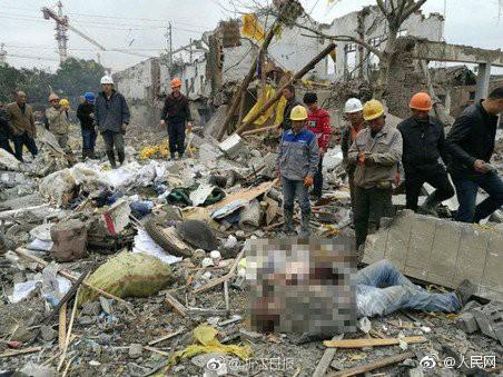 Nhà máy Trung Quốc nổ ầm, hơn 30 người nhập viện - Ảnh 4.