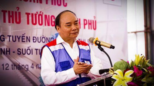 Thủ tướng Nguyễn Xuân Phúc thị sát tuyến metro số 1 của TPHCM - 5