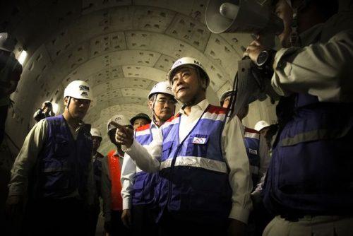 Thủ tướng Nguyễn Xuân Phúc thị sát tuyến metro số 1 của TPHCM - 9