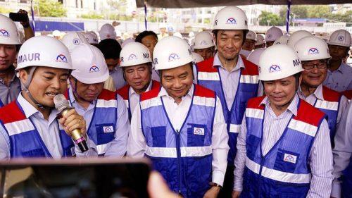 Thủ tướng Nguyễn Xuân Phúc thị sát tuyến metro số 1 của TPHCM - 3