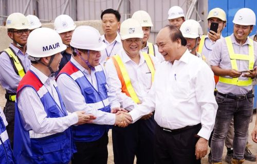 Thủ tướng Nguyễn Xuân Phúc thị sát tuyến metro số 1 của TPHCM - 1