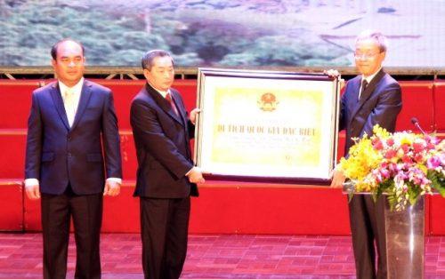 Bình Phước đón nhận danh hiệu Di tích quốc gia đặc biệt điểm cuối đường Trường Sơn