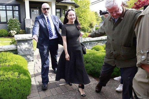 """""""Công chúa Huawei"""" lần đầu lên tiếng kể từ khi bị bắt - 1"""