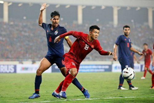 Đội tuyển Việt Nam đối đầu Thái Lan ở King's Cup 2019 - 1
