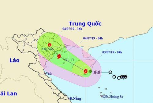 Hình thành bão số 2 trên Biển Đông - 1