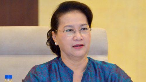 Chủ tịch Quốc hội Nguyễn Thị Kim Ngân /// Ảnh Gia Hân
