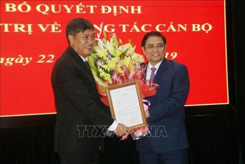 Bộ Chính trị chuẩn y tân Bí thư tỉnh uỷ Sơn La - 2