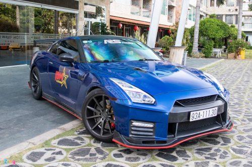 Nissan GT-R do bodykit Nismo doc nhat VN cua dai gia Binh Phuoc hinh anh 1