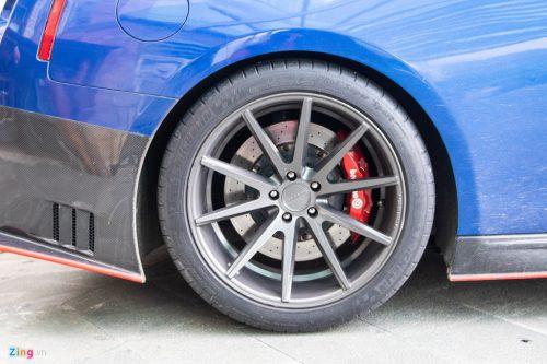 Nissan GT-R do bodykit Nismo doc nhat VN cua dai gia Binh Phuoc hinh anh 7