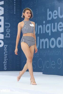 thi sinh vietnam's next top model dien ao tam ho bao khi tuyen truc tiep hinh anh 11