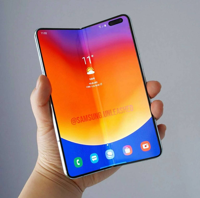 Kết quả hình ảnh cho Xuất hiện thông tin mới nhất về smartphone màn hình gập Galaxy Fold 2