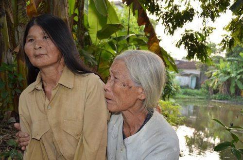 Xót xa cảnh cụ bà ngót 80 tuổi gánh chồng con trên đôi vai gầy xơ xác! - 7