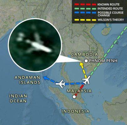 nong: 'dong do nat' mh370 bat ngo xuat hien tren google earth hinh anh 2