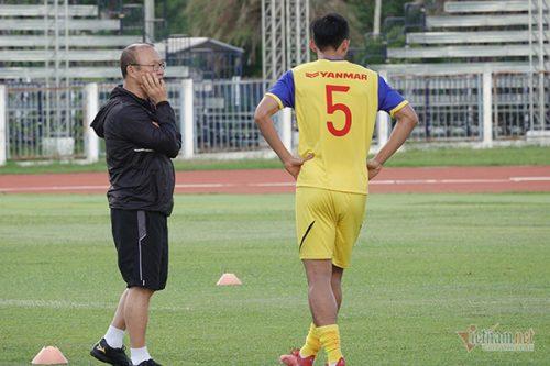 U22 Việt Nam và thầy Park hoang mang với SEA Games 30