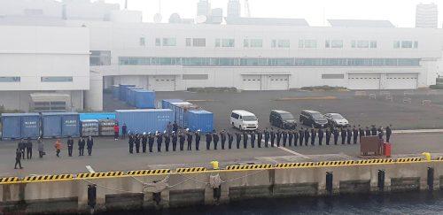 Tàu CSB 8002 rời cảng Yokohama, kết thúc chuyến thăm Nhật Bản