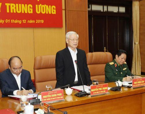 Tổng Bí thư chủ trì Hội nghị Tổng kết công tác quân sự, quốc phòng - ảnh 4