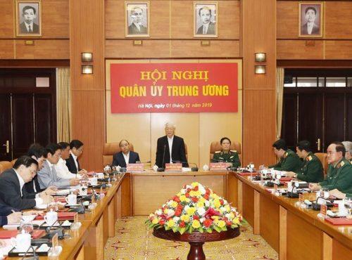 Tổng Bí thư chủ trì Hội nghị Tổng kết công tác quân sự, quốc phòng - ảnh 5
