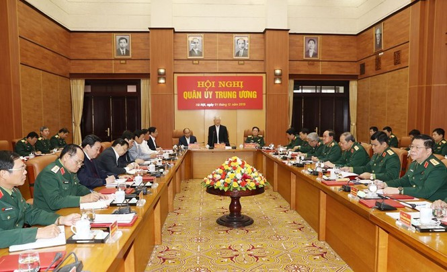 Tổng Bí thư chủ trì Hội nghị Tổng kết công tác quân sự, quốc phòng - ảnh 6
