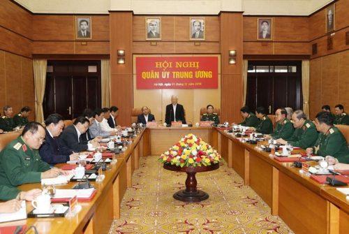 Tổng Bí thư chủ trì Hội nghị Tổng kết công tác quân sự, quốc phòng - ảnh 7