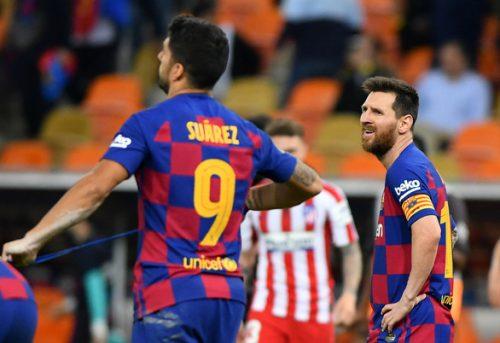 VAR hạ gục Barca ở bán kết Siêu cúp Tây Ban Nha - Ảnh 1.