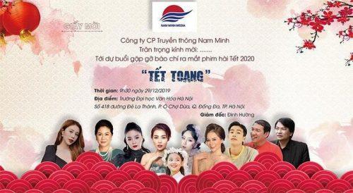 "nha san xuat phim ""tet toang"" xin loi vi sai sot khong ghi ten bien kich hinh anh 1"