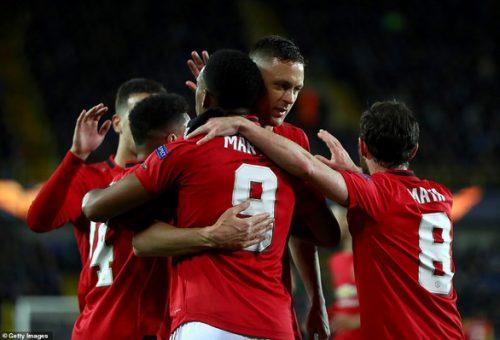 Martial giúp Manchester United có kết quả thuận lợi trên đất Bỉ - Ảnh 1.