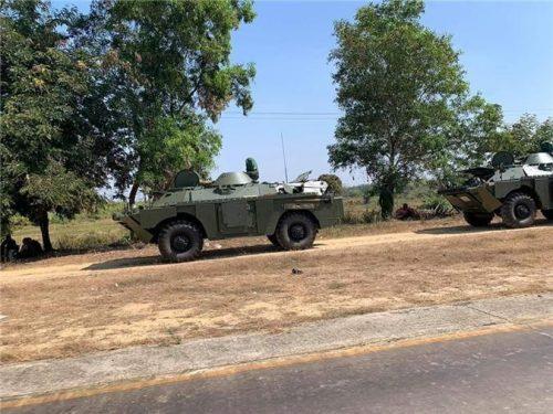 Myanmar cũng lên đời 'taxi chiến trường' BRDM-2MS... Việt Nam sẽ sớm có? Ảnh 2