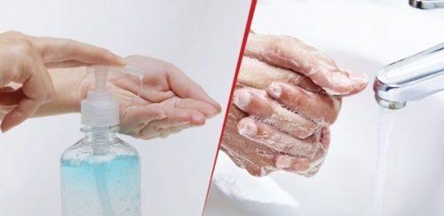 Rửa tay phòng dịch: Rửa nước, dùng khô khi nào là đúng?