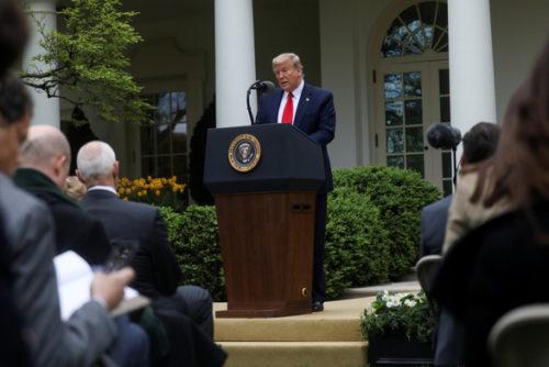 Ông Trump: WHO quản lý kém và che giấu thông tin từ Trung Quốc - Ảnh 1.