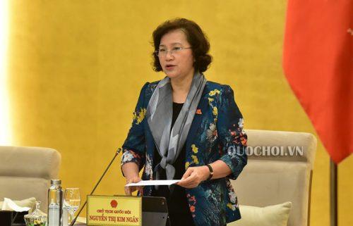 Chủ tịch Quốc hội gửi thư đề nghị đại biểu tạm dừng hội họp chưa cấp thiết - Ảnh 1.