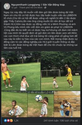 """Khát khao trở lại với bóng đá, cầu thủ từng bán độ viết """"tâm thư"""" gửi VFF - Ảnh 2."""