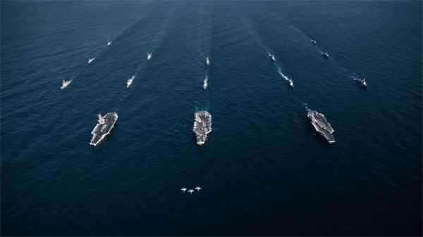 Mỹ gửi cảnh báo lạ tới các tàu ở vùng Vịnh