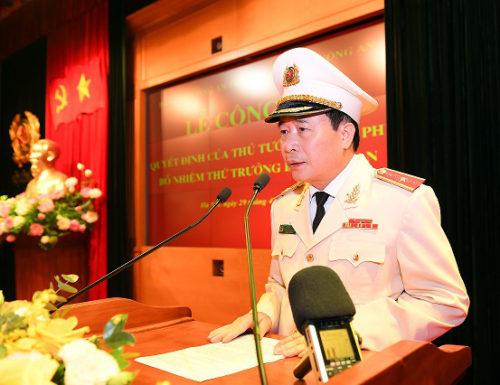 Bộ Công an có 5 Thứ trưởng được bổ nhiệm mới trong 9 tháng - Ảnh 2.
