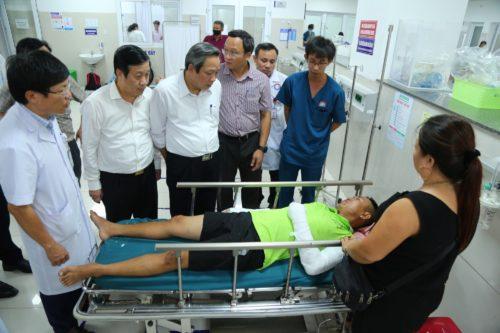 """Vụ lật xe khách ở Quảng Bình: """"Ngày hội khóa bỗng hóa đại tang"""" - Ảnh 4."""