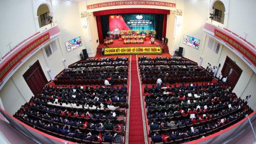 Hà Nam là tỉnh đầu tiên tiến hành đại hội Đảng cấp tỉnh - Ảnh 2.