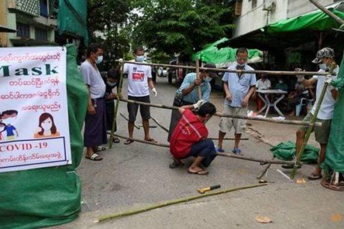 Dịch Covid-19 diễn biến phức tạp, Myanmar nguy cơ hết chỗ cách ly