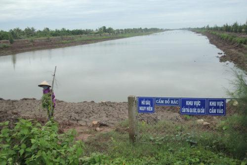 Bến Tre muốn làm hồ chứa nước ngọt mới, phá vỡ kỷ lục hồ cũ - Ảnh 1.
