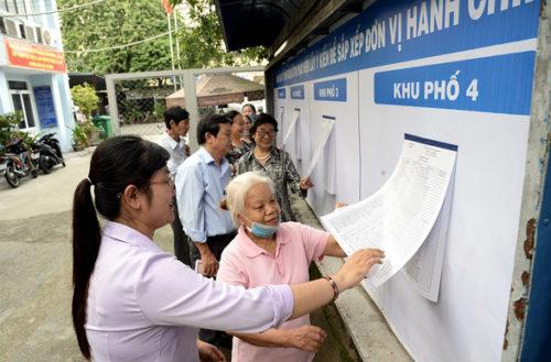 TP.HCM tổ chức phản biện xã hội về việc sáp nhập phường, quận - Ảnh 1.