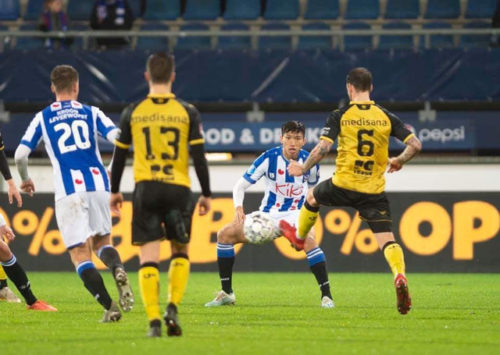Đoàn Văn Hậu khẳng định đã học hỏi được nhiều điều khi có cơ hội khoác áo SC Heerenveen.