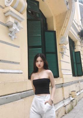"""Bạn gái xinh như người mẫu của """"hot boy"""" U23 Việt Nam - Ảnh 5."""