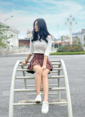 """Bạn gái xinh như người mẫu của """"hot boy"""" U23 Việt Nam - Ảnh 3."""