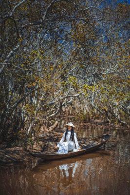 Rừng ngập mặn xứ Huế đẹp ma mị khi thu sang - Ảnh 9.